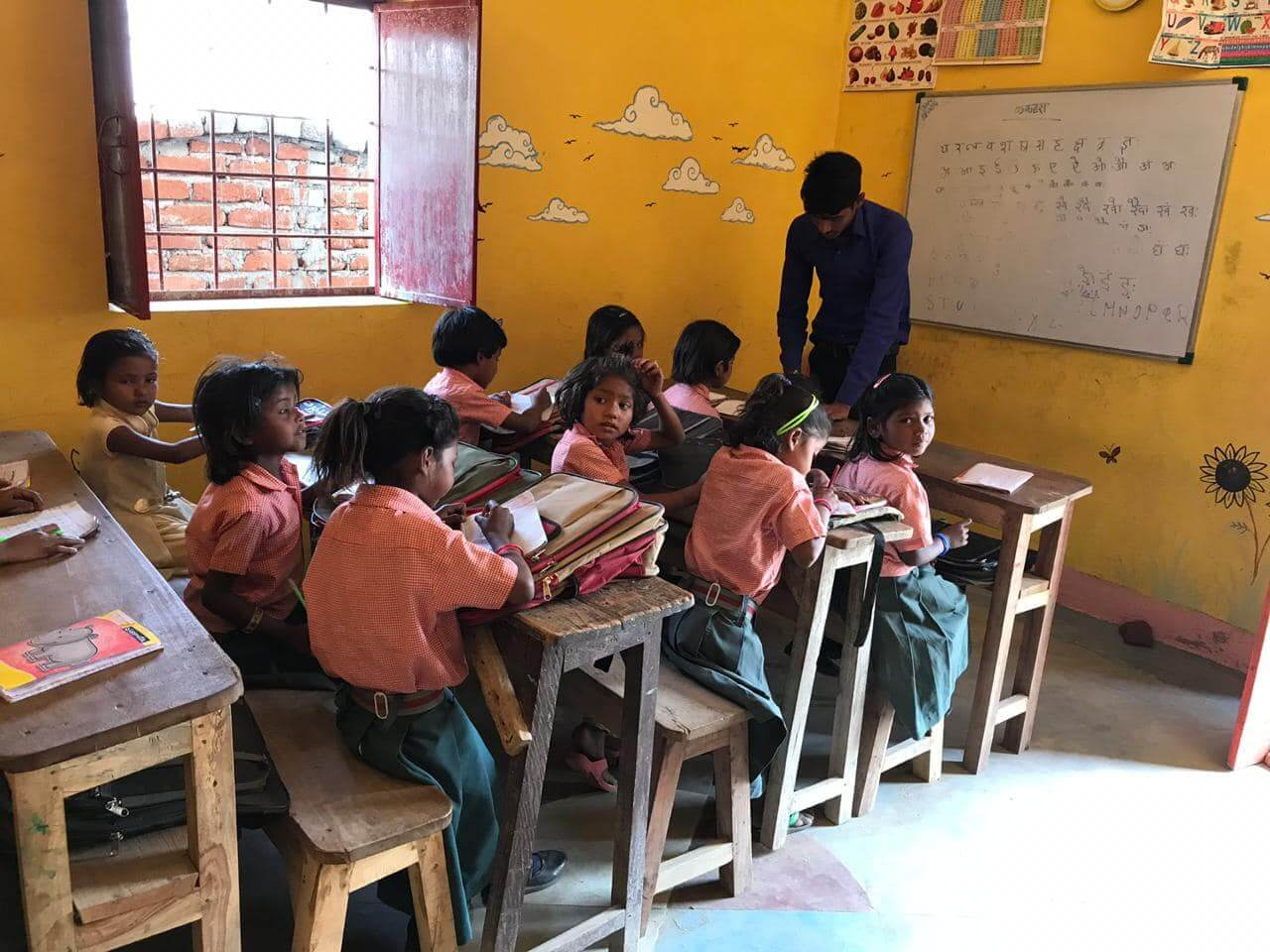 哈尔菩提伽耶的非政府组织小学
