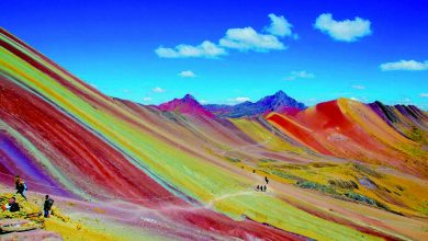 Photo of 世界旅游趣 七色彩虹不在天上,而是在地上?