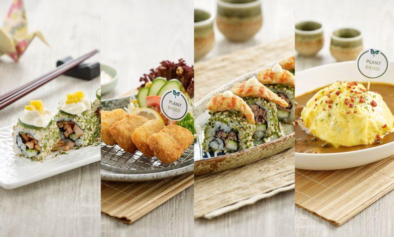 Photo of Sushi Tei打造美食新势力:植物性饮食