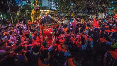 Photo of 柔佛古庙游神 众神巡游市民狂欢