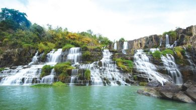Photo of 世界旅游趣 雄伟的绿林瀑布