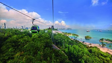 Photo of 新加坡缆车 远距离的美感